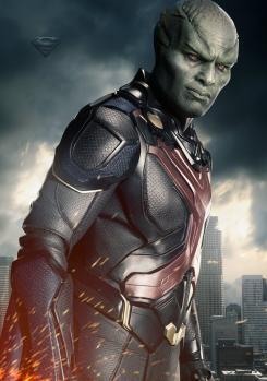 Póster individual de la segunda temporada de Supergirl