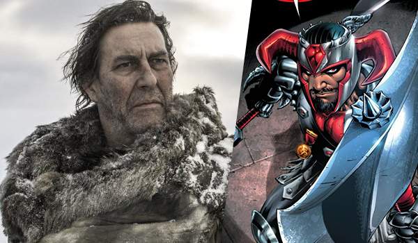 Ciaran Hinds será Steppenwolf en Justice League (2017)