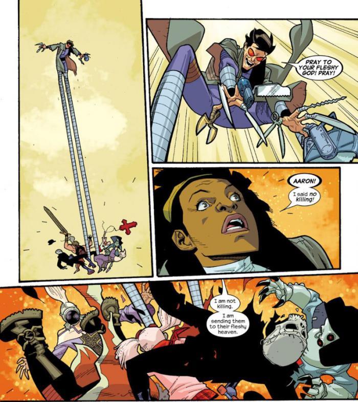 Imagen de Nextwave de Marvel Comics