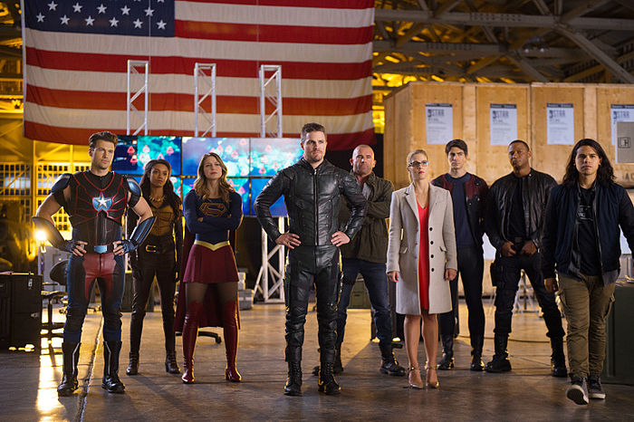 Imagen de Legends of Tomorrow 2x07: Invasion!