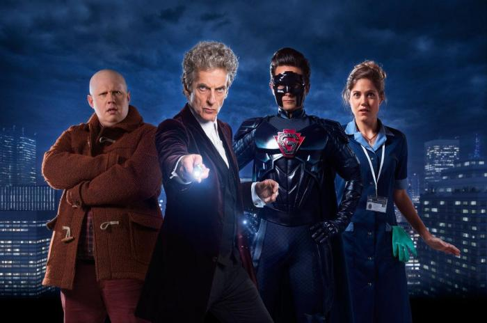 Imagen del especial navideño de Doctor Who titulado The Return of Doctor Mysterio