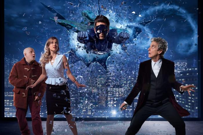 Póster del especial navideño de Doctor Who: The Return of Doctor Mysterio