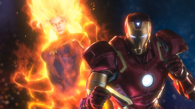 Captura del primer trailer de Marvel vs. Capcom: Infinite