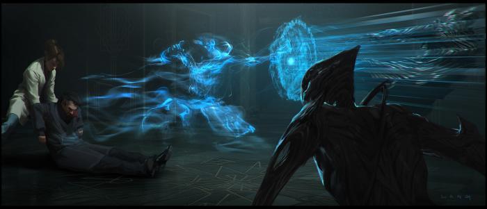 Arte conceptual de Doctor Strange por Ryan Lang