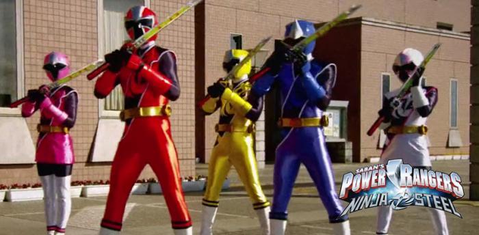 Imagen de Power Rangers Ninja Steel, la generación 24 de Power Rangers
