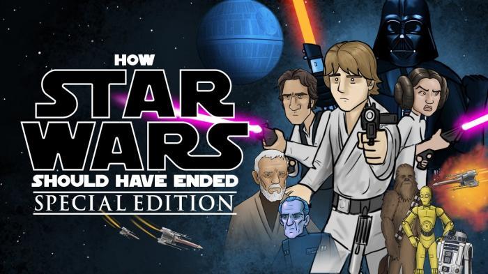 Edición especial de Cómo debió acabar Star Wars, la original