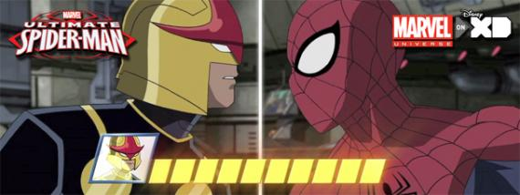 Imagen promocional del episodio 1.03: Doomed, de Ultimate Spider-Man (2012)