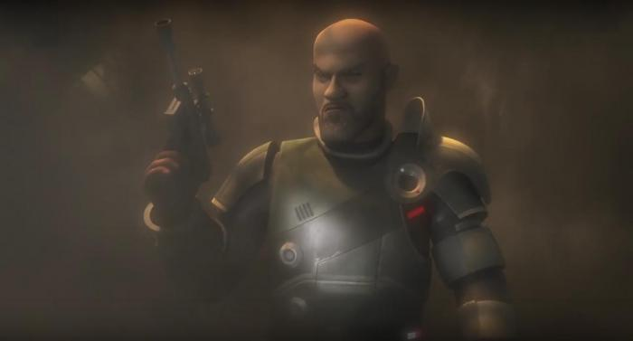 Saw Guerrera en Star Wars Rebels