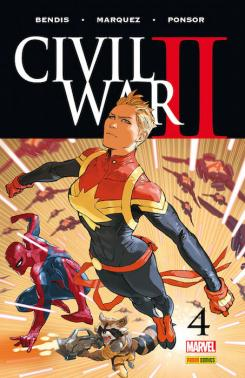 Civil War II 4 - Portada de David Marquez