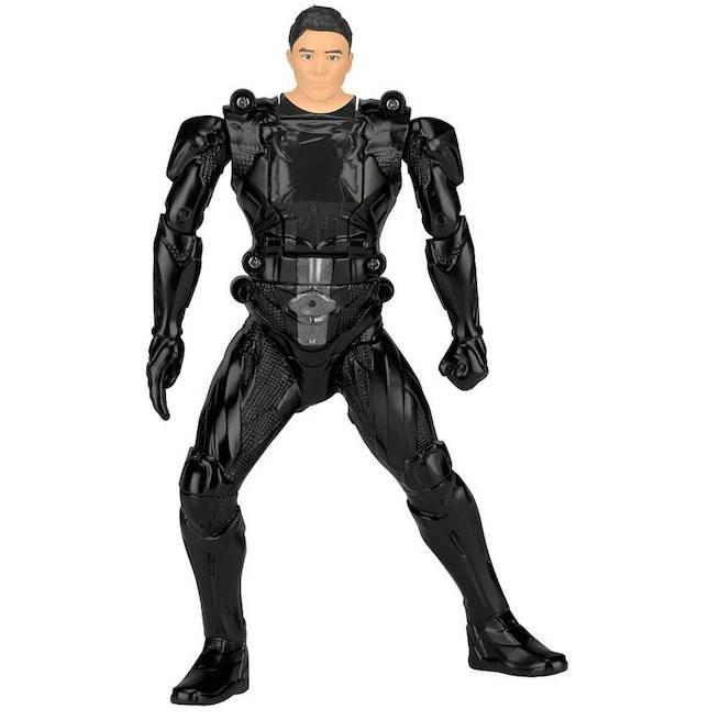 Figura de Power Rangers con cabeza giratoria