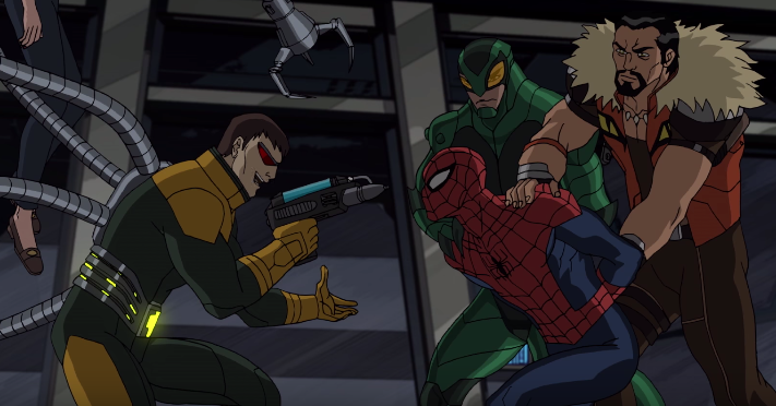 Captura del featurette de final de serie de Ultimate Spider-Man