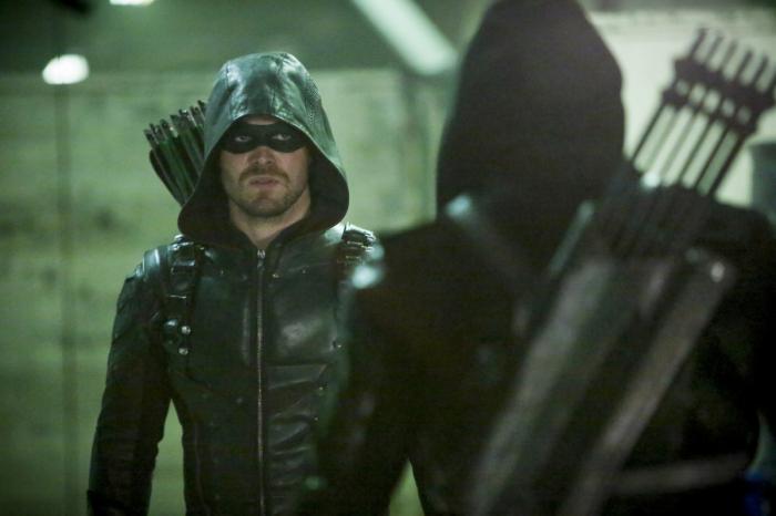 Imagen de Arrow 5x10: Who are you?