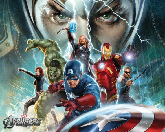 "Wallpaper de ""The Avengers"" / ""Los Vengadores"" (2012)"