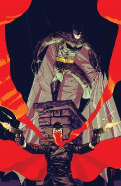 Portada del crossover Batman / Shadow #1