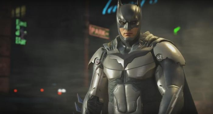 Captura del trailer de Robin de Injustice 2 (2017)