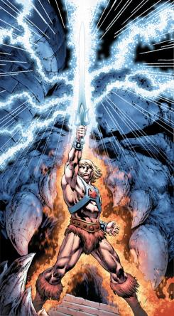 He-Man and the Masters of the Universe #1 (Julio, 2012)
