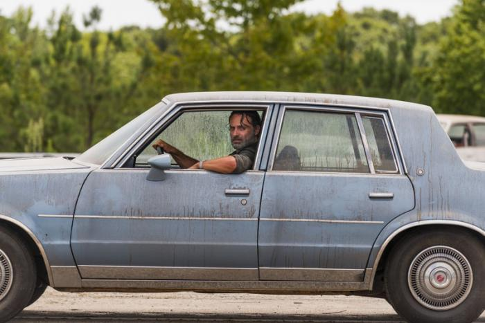 Imagen de The Walking Dead 7x09: Rock in the Road