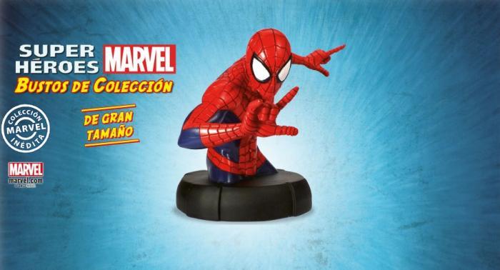 Coleccionable Bustos de colección de superhéroes Marvel