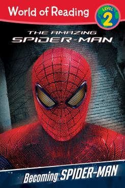 Portada del libro Becoming Spider-Man Level 2 Reader