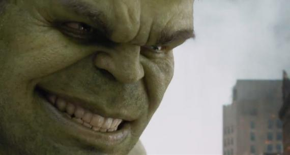 Captura del TV Spot de The Avengers / Los Vengadores (2012)