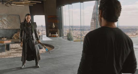 Captura del tercer clip de The Avengers / Los Vengadores (2012)