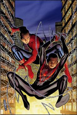 Spider-Men por Jimmy Cheung
