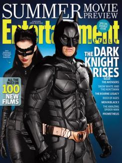 The Dark Knight Rises / El Caballero Oscuro: La Leyenda Renace (2012) en la portada de la revista Entertainment Weekly (Abril 2012)