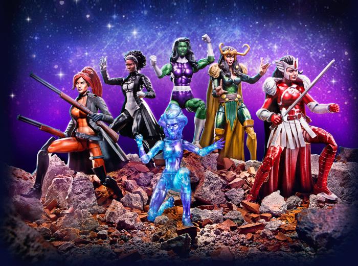 Marvel Legends - A-Force Pack