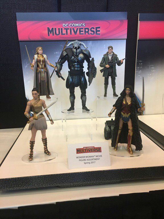 Figuras de Wonder Woman (2017) en la Toy Fair con vistazo a Ares