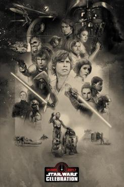 Póster de Star Wars Celebration Orlando 2017