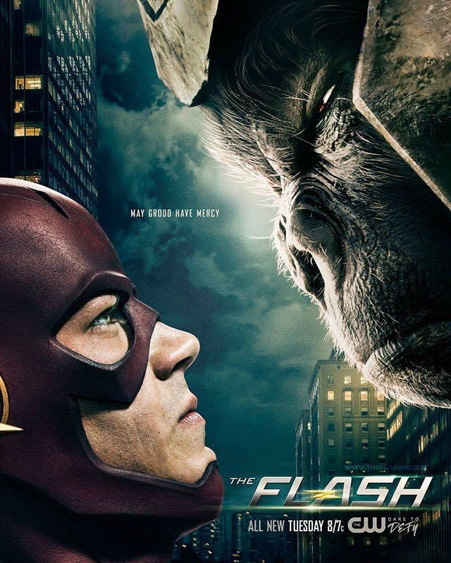 Póster de The Flash 3×14: Attack on Central City