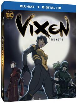 Carátula de Vixen: The Movie, recopilación de las 2 temporadas de la serie