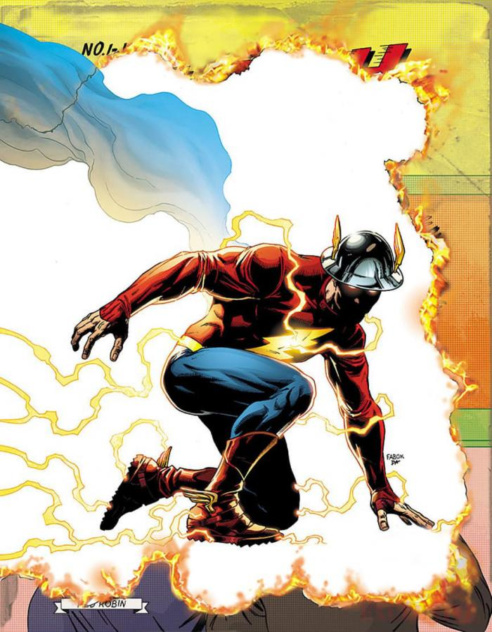 Portada de Flash #22 [Rebirth] por Jason Fabok