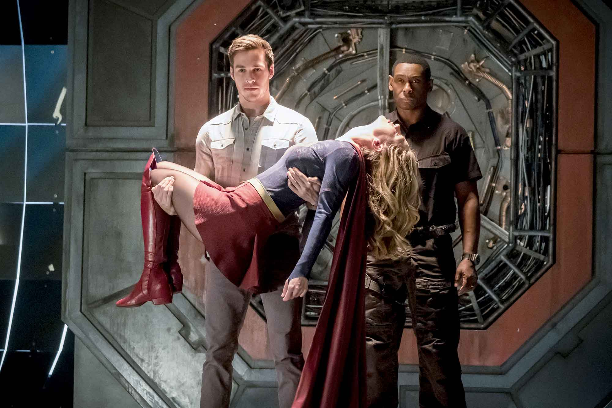 Series Imágenes The Flash 3x17 Duet Crossover Musical Con Supergirl Bds