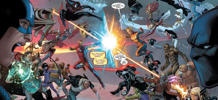 Civil War II 5 - Interior