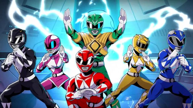 Juego Mighty Morphing Power Rangers: Mega Battle