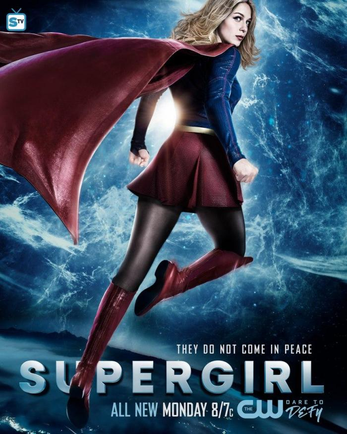 Póster de Supergirl 2x20: City of lost children