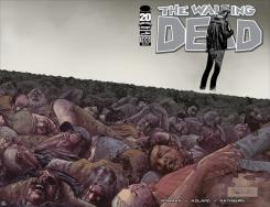 Portada del cómic The Walking Dead #100 (Julio de 2012)