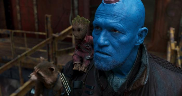 Imagen de Guardianes de la Galaxia Vol. 2 (2017), Yondu, Rocket y Groot