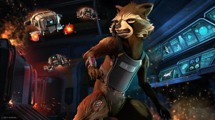 Captura del Episodio 2: Under Pressure del juego Guardians of the Galaxy: The Telltale Series
