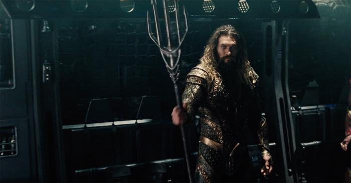 Captura del trailer Justice League (2017), Aquaman