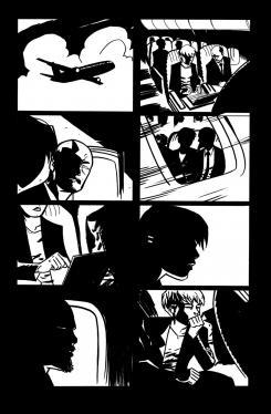 Interior del cómic Powers: FBI #1 (Julio 2012)