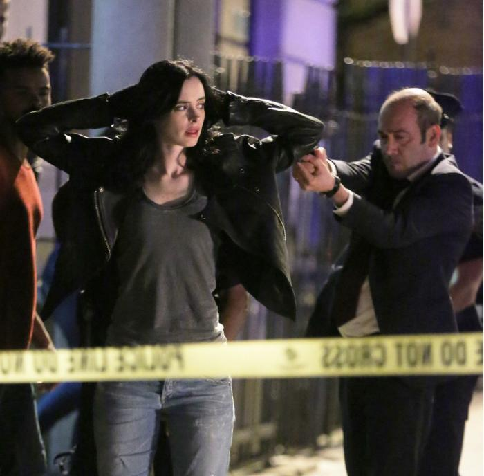 Imagen de set de la segunda temporada de Marvel's Jessica Jones