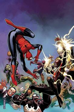 Spider-Men #3 por Jim Cheung