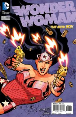 Portada del cómic Wonder Woman #8 (Abril 2012)
