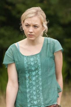 El personaje de Beth Greene (interpretado por Emily Kinney) en la segunda temporada de The Walking Dead