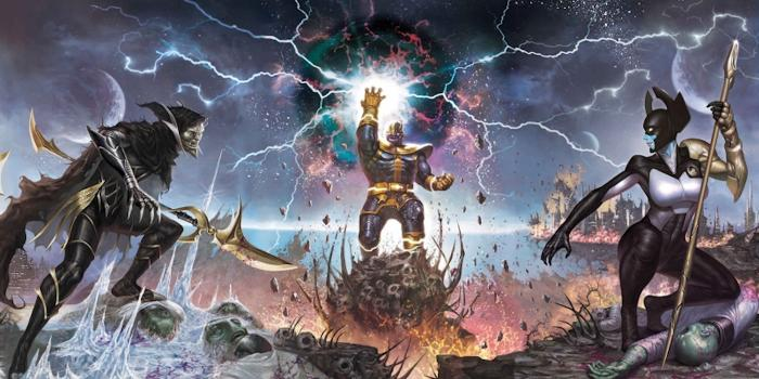 Thanos y la Black Order en los cómics Marvel