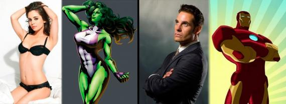 Eliza Dushku y Adrian Pasdar pondrán voz a She-Hulk e Iron Man en Hulk and the Agents of S.M.A.S.H.