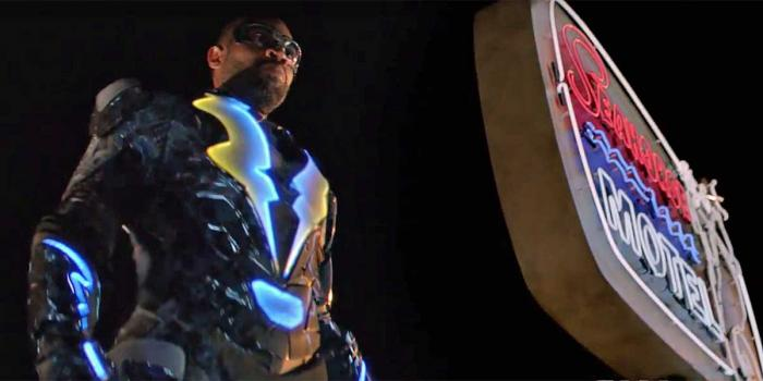 Captura del primer trailer de Black Lightning (2018)