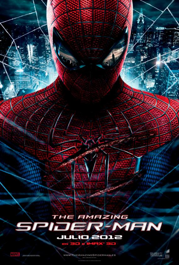 Teaser póster para España de The Amazing Spider-Man (2012)